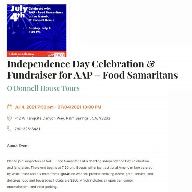 The AAP is a group of 67,000 physicians who are committed to the physical and mental well-being and health of others. In the Desert? Come join Off the Charts for an Independence Day celebration to support! #offthecharts #togetherwearestronger #palmsprings #deserthotsprings #cathedralcity